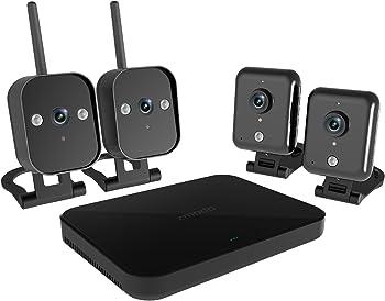 Zmodo 4-Ch. 720p Wireless Mini NVR Kit w/4 IP Cameras