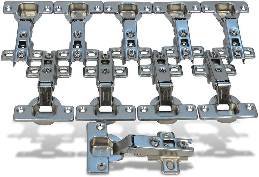 10xSt/ück Topfband Eckanschlag 35mm Scharnier Topfscharniere Federscharnier M/öbel