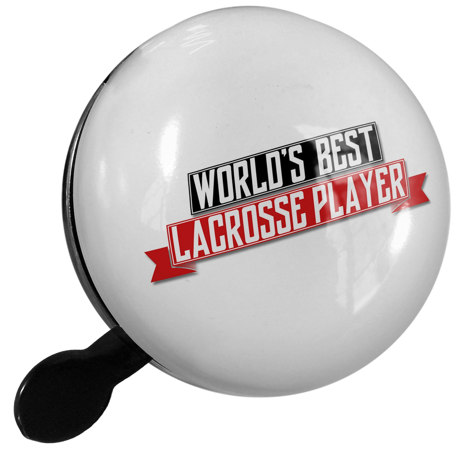 Small Bike Bell Worlds Best Lacrosse Player - NEONBLOND