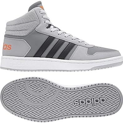 adidas Vs Hoops Mid 2.0, Scarpe da Basket Uomo, Grigio ...