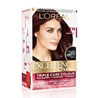L'Oreal Paris Excellence Creme Hair Color, 3.16 Burgundy, 72ml+100g