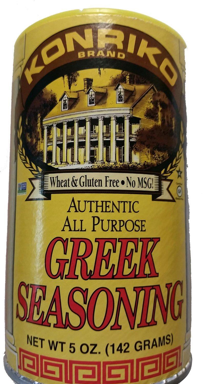 Konriko authentic greek seasoning -- 5 oz (pack of 6)
