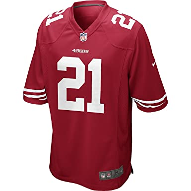 cff08e13c45 Nike NFL San Francisco 49ers Frank Gore American Football Game Jersey Shirt  in Red (Medium
