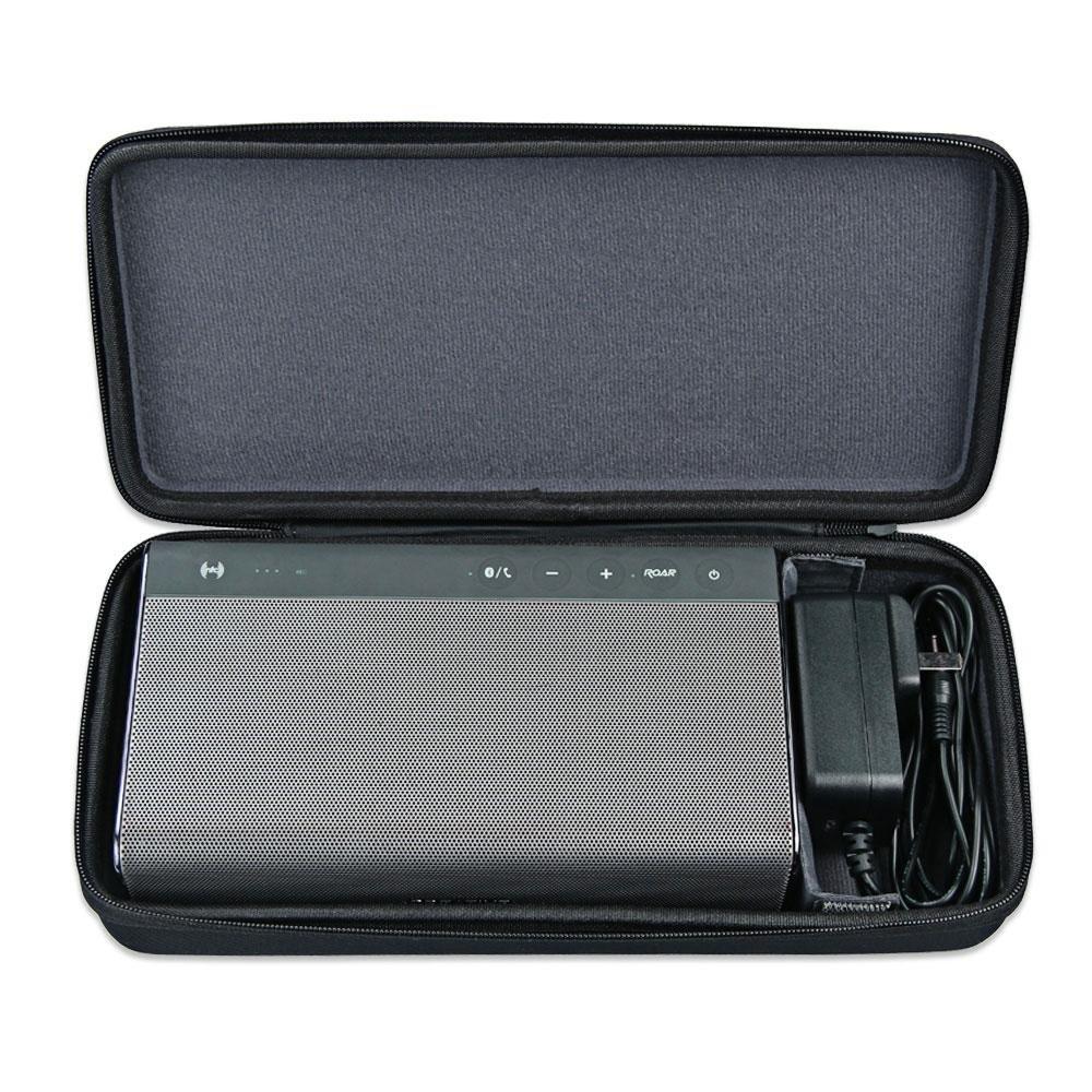 borsa impermeabile scatola di immagazzinaggio per Bowers /& Wilkins T7//creative Sound Blaster Roar 2//creative Sound Blaster speaker Aolvo duro speaker custodia da viaggio nero borsa per il trasporto