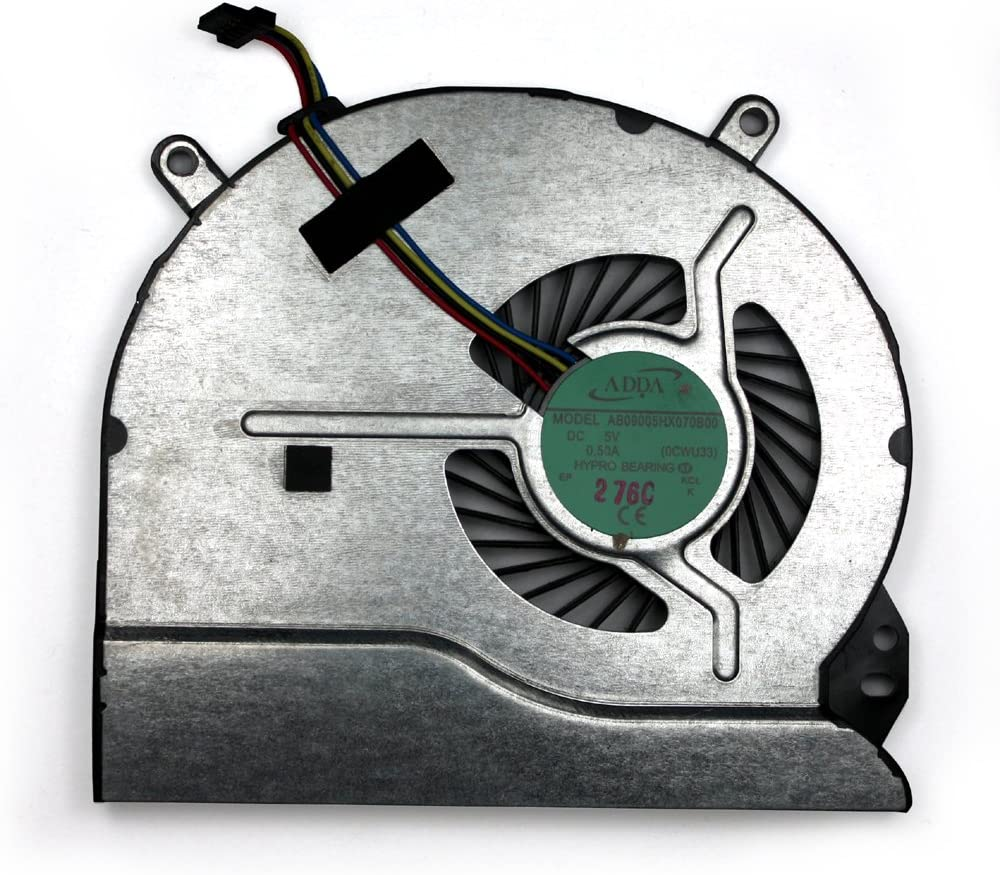 HP Envy 14-1114ef HP Envy 14-1116tx HP Envy 14-1118tx HP Envy 14-1119tx Power4Laptops Replacement Laptop Fan for HP Envy 14-1113tx
