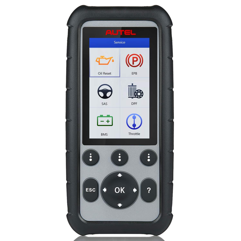 Autel MaxiDiag MD806 Herramienta de diagnóstico de automóvil para 4 Sistemas, Motor, Transmisión,SRS y ABS,Escáner OBD2 Compatible con EPB,reinicio de Aceite, DPF,SAS y BMS
