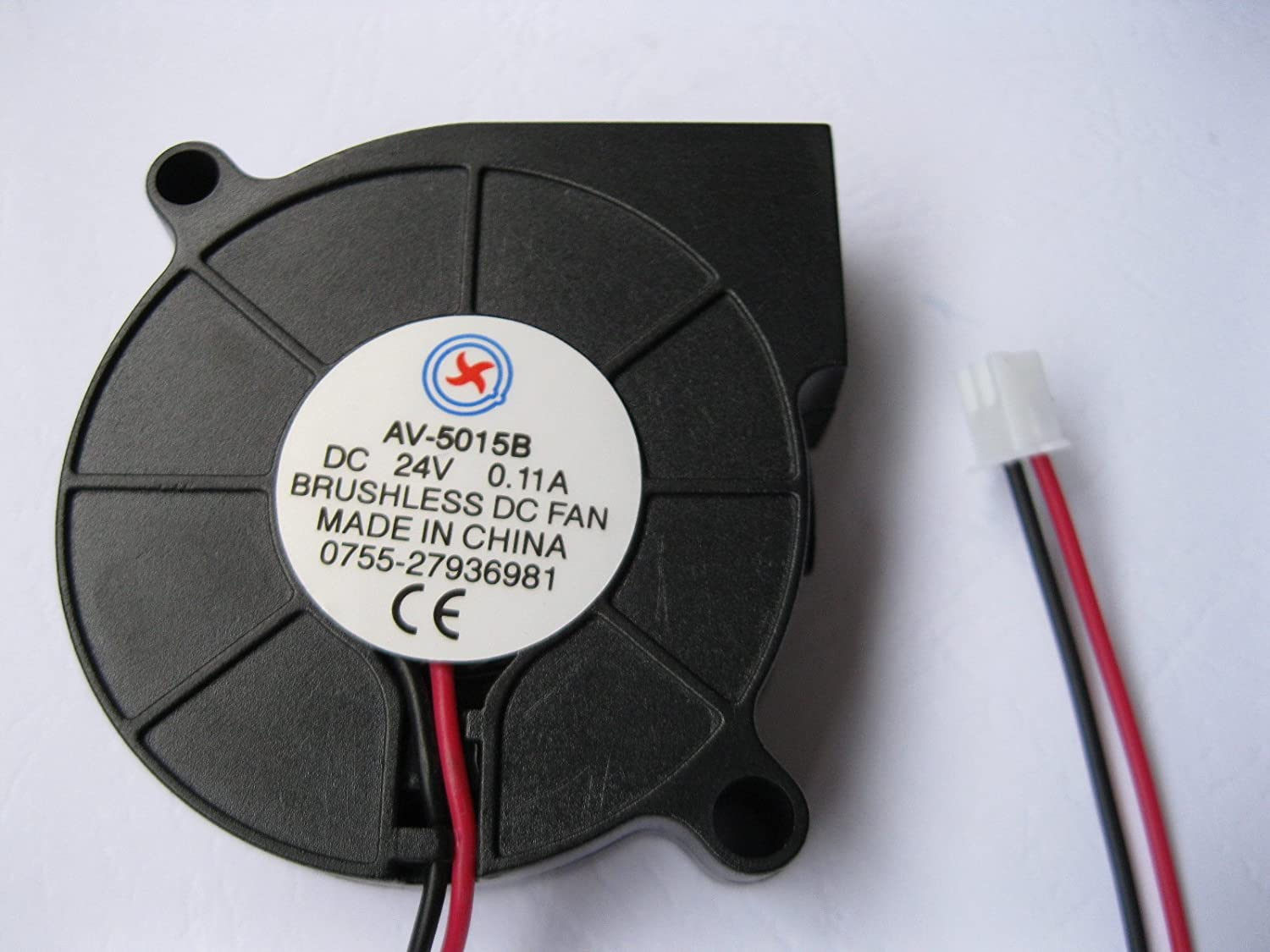 Cooling Fan Fan with brushless DC Sleeve Bearing C5015 24V 50 mmx15 mm