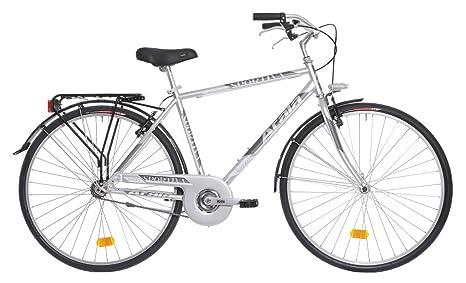 Bicicletta Da Città Da Uomo Atala Sportiva Grigio Metallizzato 28