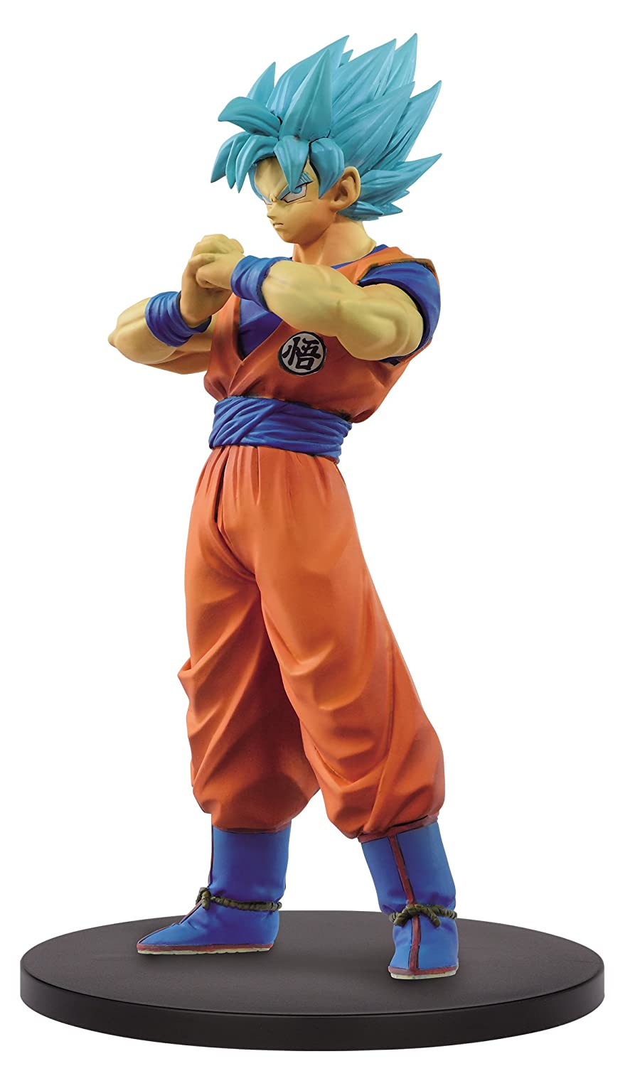 Dragon Ball Super DXF The Super Warriors Vol. 4 Super Saiyan Blue Goku Figure Banpresto 26544