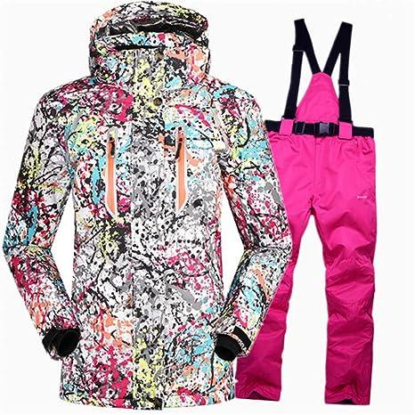 MQAIFEKS Trajes de Snowboard súper cálidos para niñas Conjuntos de ...