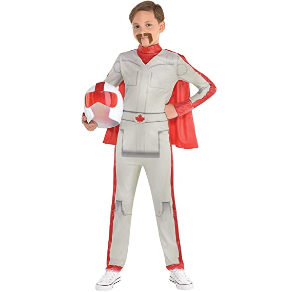 Party City Duke Caboom Halloween Costume for Boys, Toy Story 4, Includes Accessories