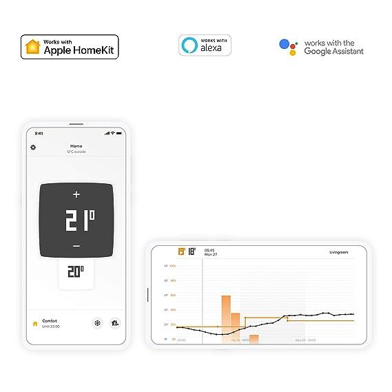 Netatmo NTH01-ES-EC Termostato Wifi Inteligente para caldera individual (Manual en inglés únicamente)