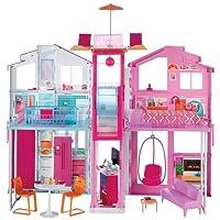 Barbie  La Casa di Malibu con Accessori e Colori Vivaci, 18 x 41 x 74,5 cm, DLY32