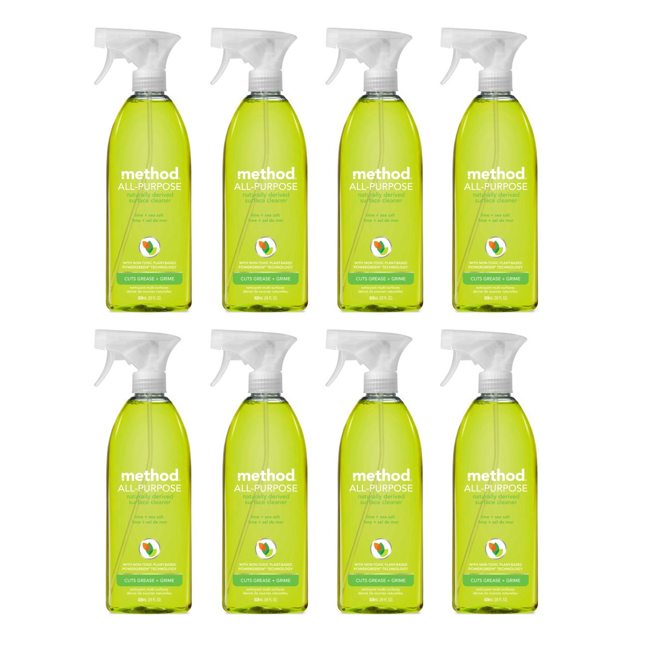 Method All Purpose Cleaner, Lime + Sea Salt, 28 Ounce (8 Count) by Method (Image #3)