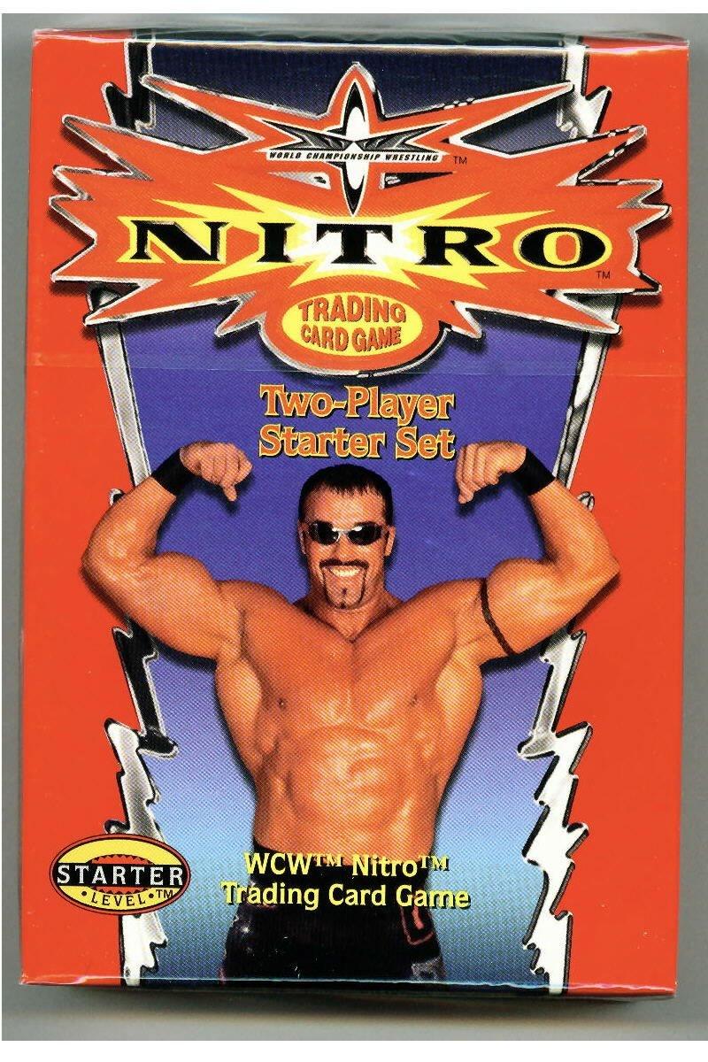 Amazon.com: WCW Nitro (WWF Raw Deal) TCG 2-player Starter ...