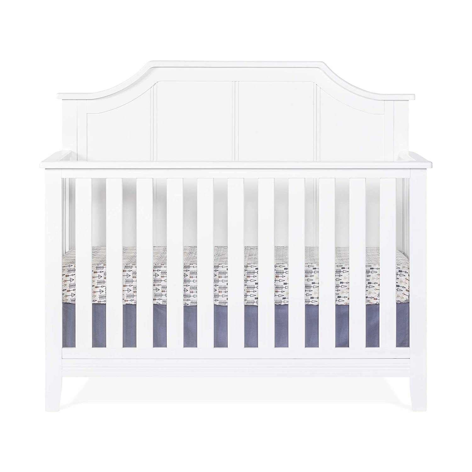 Child Craft Rylan 4-in-1 Convertible Baby Crib Matte White