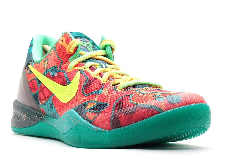 los angeles 9c7a3 5ae98 Amazon.com   Nike Kobe 8 System Premium What The Kobe Men s Sneakers  Electric Orange Deep Night-Violet 635438-800   Basketball