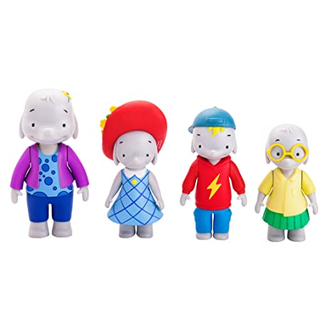 056b16f947efd Amazon.com  Ella the Elephant - Ella and Friends Figures (4-Pack ...