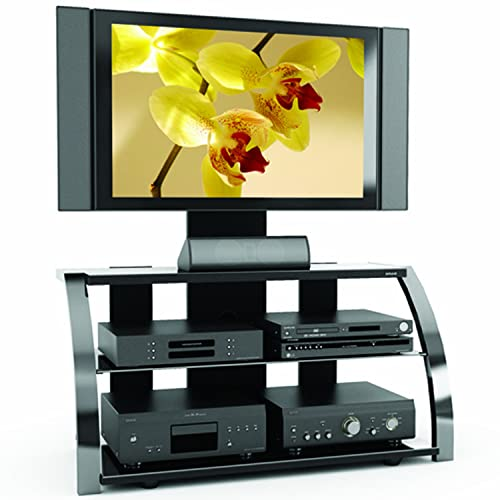 Sonax Milan 3-in-1 Gun Metal TV Stand