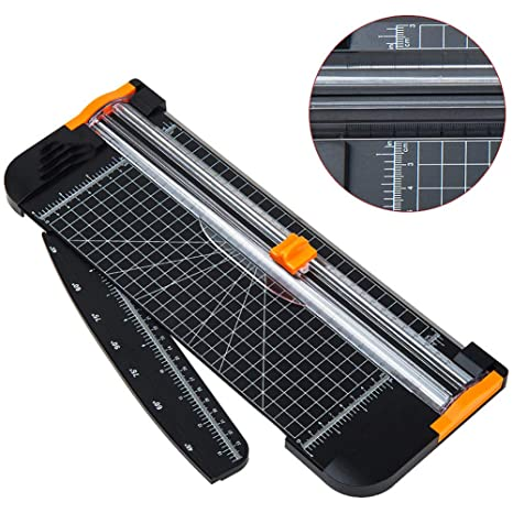 Home Office Arts Card Ruler Cutter Trimmer A4 Photo Rotary Paper Guillotines Hot