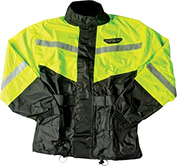 2 PIECE IN 100/% POLYESTER IN BLACK BLACK KNIGHT RAIN SUIT YELLOW OR NAVY