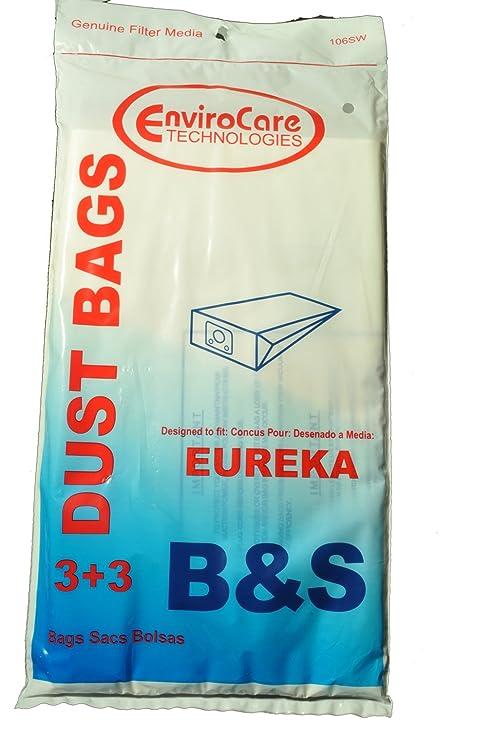 Amazon.com: Eureka estilo B, Eureka S bolsas de aspiradora ...