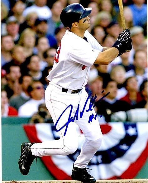 John Valentin Signed 8x10 Boston Red Sox Photo   Autographed Baseball Photos
