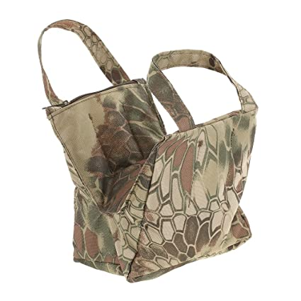 Enjoyable Detech Camouflage Shooting Front And Rear Sandbag Stand Holders Rifle Target Rest Bag Bean Bag Unfilled Creativecarmelina Interior Chair Design Creativecarmelinacom