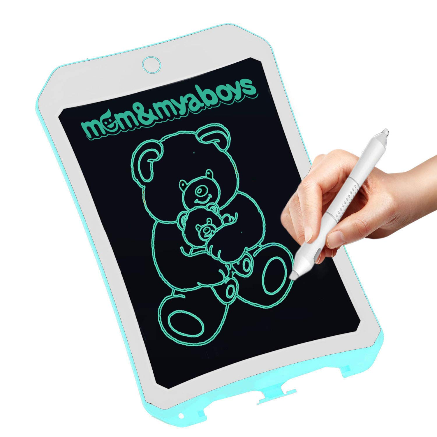 yyhappy childhood Writing Tablet for/Birthday Gift,Kids Toy 8.5 in Colorful LCD Writing Tablet Electronic Writings Pads Drawing Board Gifts for Kids Office Blackboard-Erase Button Lock Included Red