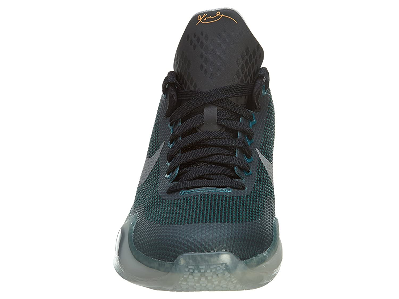 finest selection 6431f 06d48 Amazon.com   Nike Kobe X (GS) Youth Hyper Orange Burgundy Gold Reflect Low  Top Sneakers (6.5 B(M) US - EU 39, Hyper Orange Burgundy Gold Reflect)   ...