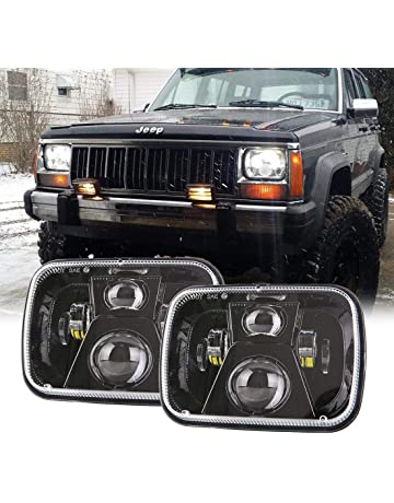 Car Light Assembly Practical 7 Led Headlights With Rotating Rgb Halo Adjustment Remote For 1997~2017 Jeep Wrangler Jk Lj Cj Hummer H1 H2 Headlamp Drl Drivi