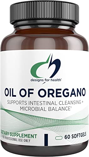 Designs for Health Oil of Oregano Softgels - 60mg High Carvacrol 60 Softgels