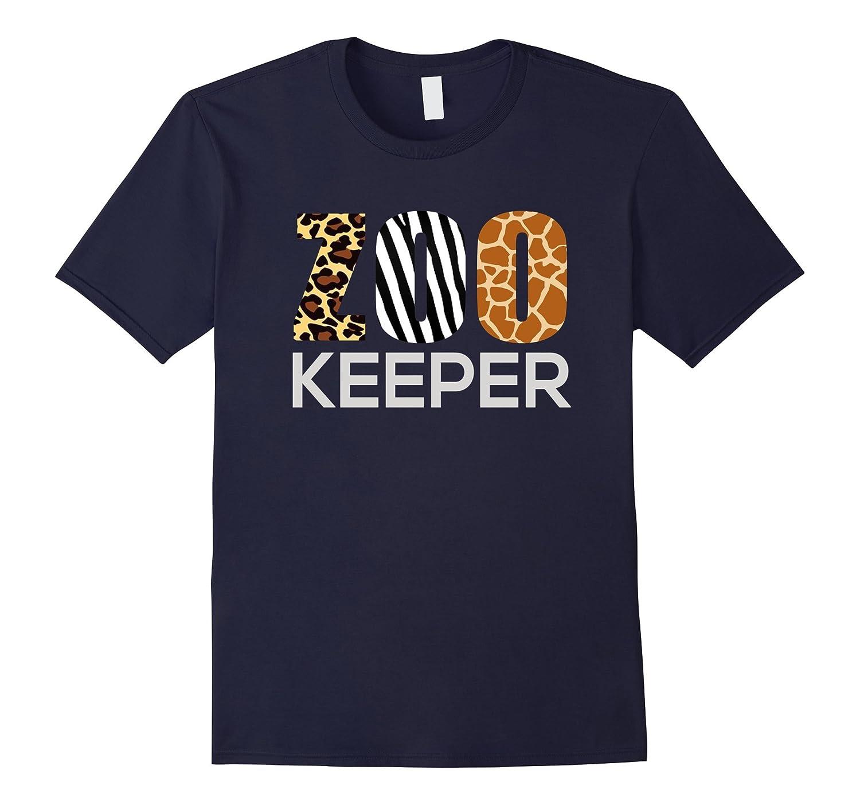 Zoo Keeper Safari T-Shirt Fun Gift For Animal Lover Costume-FL