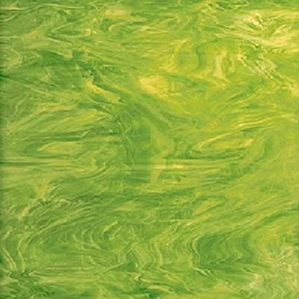Buy Stained Glass Sheets.Amazon Com Spectrum Lime Green Stained Glass Sheet 8 X