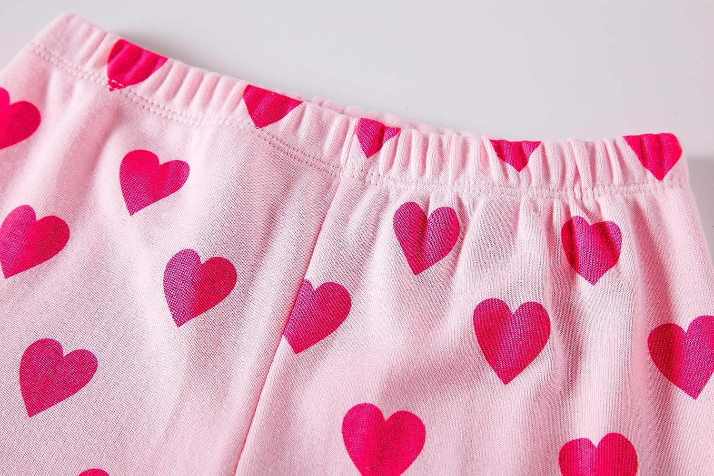 Dolphin/&Fish Little Girls Cotton Short Pajamas Summer Kids Clothes Toddler Pjs