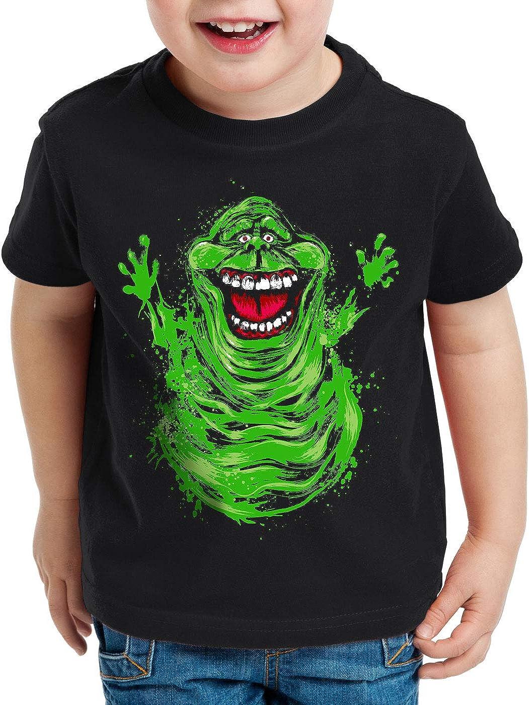style3 Slimer T-Shirt pour Enfants fant/ôme sos