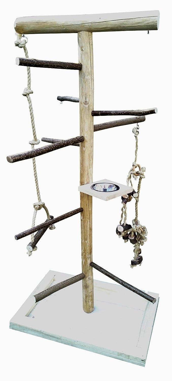 Kletterbaum für Vögel mit Vogelspielzeug , Vogelfreisitz 181