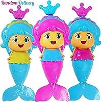 NEEDOON Jouet de bain bébé sirène liquidation jouet flottant de l'eau Heureux temps dans la piscine, bain de plage, baignoire - couleur Aléatoire livraison (Une pièce)