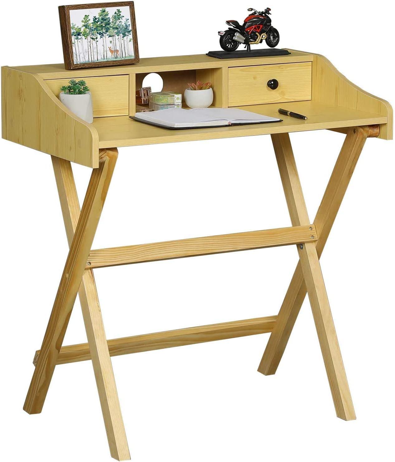 Folding Desk Home Office Desk