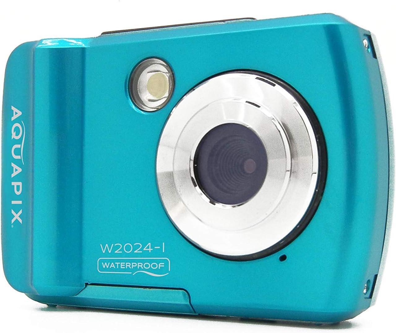 Easypix EASYPIX W2024-I Splash Iceblue Cam/éra Submersible 14 MP Double Pente Bleu