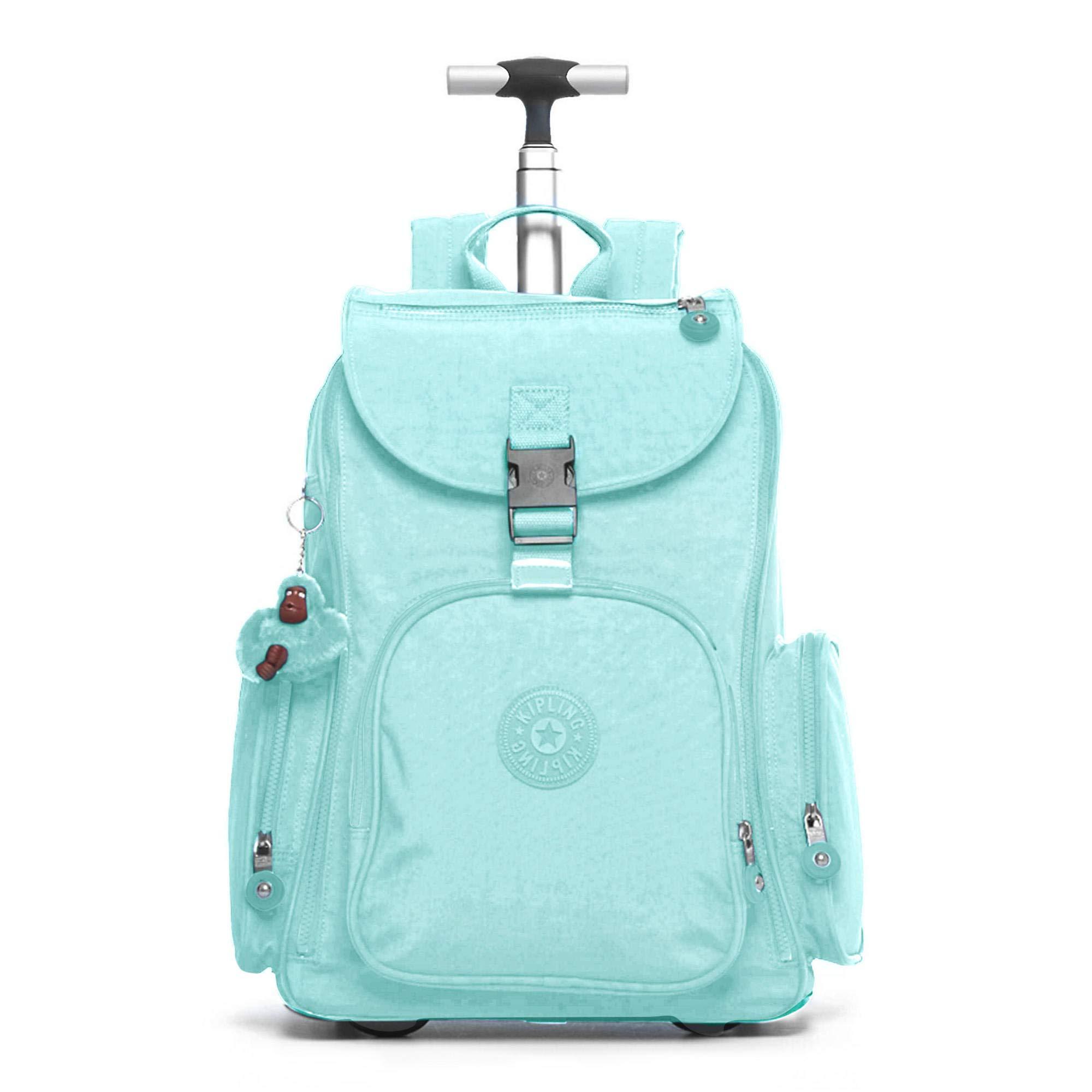 Kipling Alcatraz Ii Large Rolling Laptop Backpack Fresh Teal Tonal by Kipling