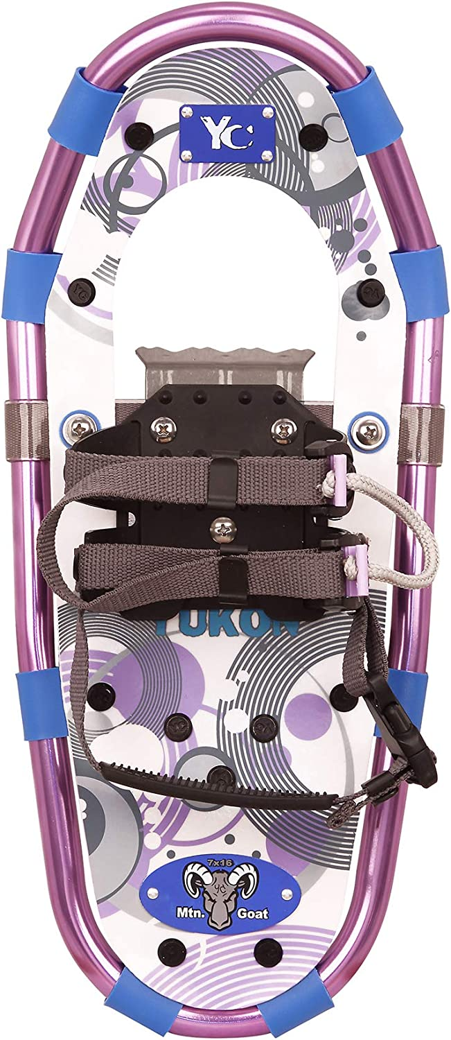 YUKON YOUTH Aluminum Snowshoe – Purple