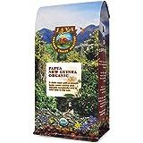 Java Planet, Organic Coffee Beans, Papua New Guinea Single Origin, Gourmet Dark Roast of Arabica Whole Bean Coffee…