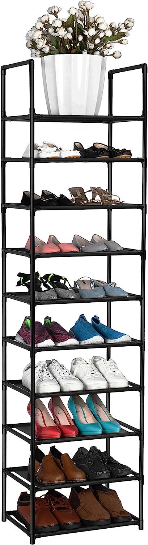 toalla FÁCIL MONTAJE Estante de 8 niveles para zapatos juguetes bolsos