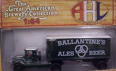 Amazon Com Hartoy 51107 Ballantine S Semi Truck 1 64 Toys Games