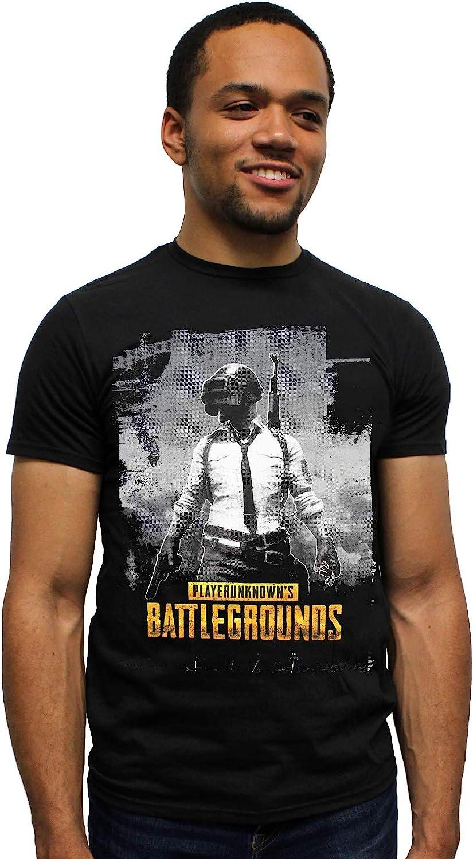 multiplayer game PlayerUnknown/'s Battlegrounds gamer tee PUBG gray tee