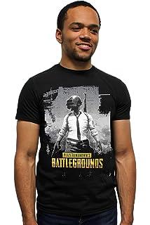 79a5efc45210 Amazon.com  PUBG Shirt Playerunknown s Battlegrounds Logo Video Game ...