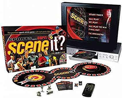 Amazon Com Screenlife The Ultimate Dvd Sports Game For The Ultimate Fan Scene It Sports Powered By Espn Toys Games