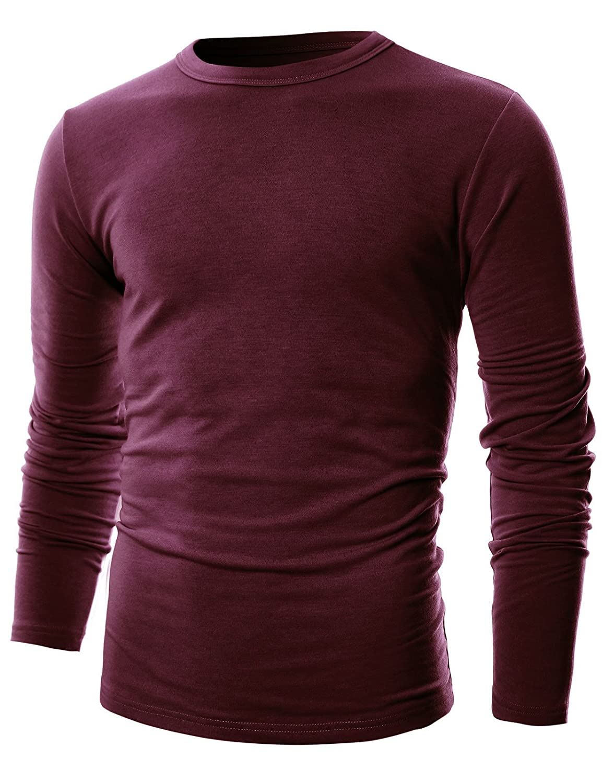 GIVON SHIRT メンズ B075Q7R1C1 XL|Dcp033-burgundy Dcp033-burgundy XL