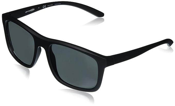Arnette Complementary, Gafas de Sol para Hombre, Matte Black, 57